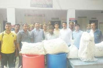 भाजपा नेता निकला अवैध शराब कारोबार का सरगना, पुलिस ने की कार्रवाई तो बचाने पहुंच गए भाजपाई
