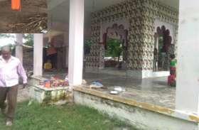 औरैया के बाद यूपी के इस शहर में मिला मंदिर के पुजारी का शव,इलाके में तनाव