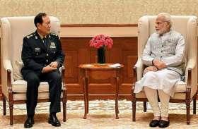 चीनी रक्षामंत्री से मिले पीएम मोदी, कहा- अब बातचीत के सुलझाएंगे आपसी विवाद