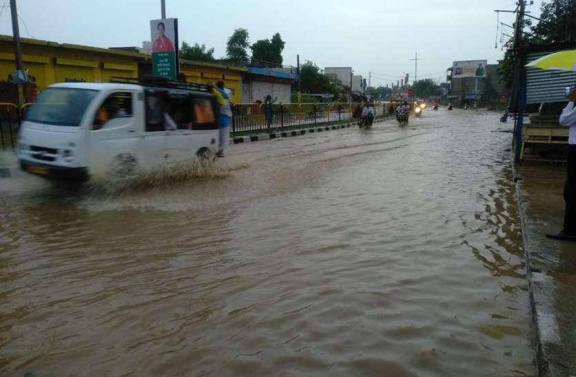 झमाझम बारिश ने दिया सुकून, करौली में दो घण्टे में 79 एमएम बारिश