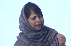 महबूबा मुफ्ती का बड़ा बयान: वाजपेयी को बताया जम्मू-कश्मीर का मसीहा