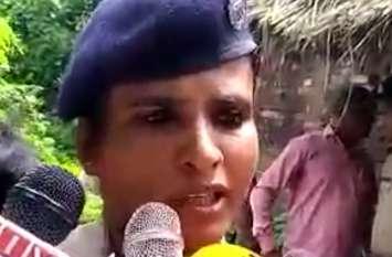 दरोगा की कुल्हाड़ी से काटकर की गई निर्मम हत्या, पुलिस तफ्तीश में जुटी