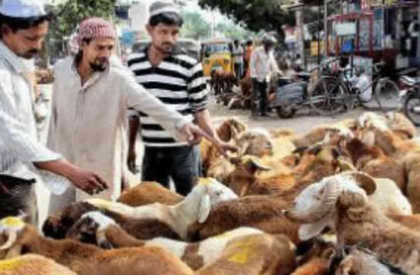 तेलंगाना में इस साल क़ुर्बानी के बकरों की क़ीमत ने छुआ आसमान,ईद की सुबह तक आबाद दिखी मंडियां