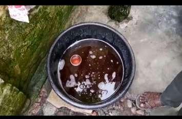 यूपी के इस शहर के नलों में पानी की जगह आने लगा खून,मच गया हडकम्प