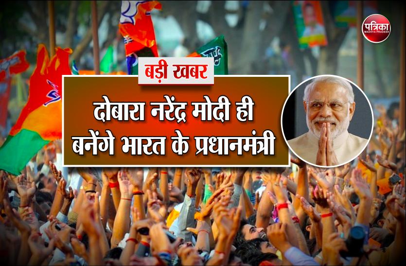 भाजपा के लिए बड़ी खुशखबरी,  मोदी बनेंगे 2019 में  दोबारा प्रधानमंत्री, कांग्रेस की हो जायेंगी ये हालत