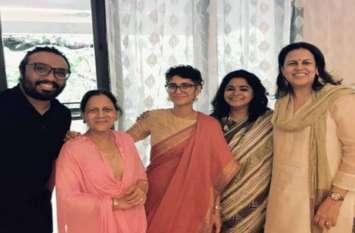 आॅनस्क्रीन बेटियों संग आमिर ने मनाया बकरीद, देखें पूरे परिवार की तस्वीरें