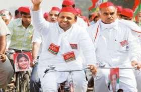 अखिलेश यादव की साइकिल सज-धज कर तैयार, मजदूरों के शहर से करेंगे चुनाव का शंखदान
