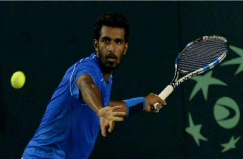 Asian games : प्रजनेश ने दिलाया टेनिस में भारत को कांस्य पदक