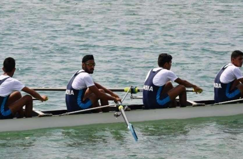 Asian Games 2018: नौकायन में पुरुषों की क्वाड्रपल स्कल्स टीम ने जीता स्वर्ण पदक