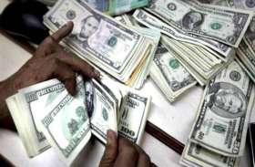 सरकार को फिर झटका, विदेशी पूंजी भंडार 3.32 करोड़ डॉलर घटा