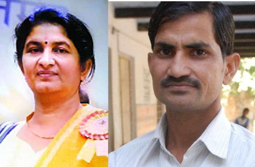 अलवर के इमरान खान और चूरू की सुमन जाखड़ को राष्ट्रीय शिक्षक पुरस्कार