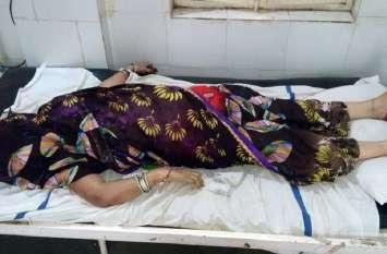 भाई की कलाई में राखी बांधकर लौट रही बहन की दर्दनाक मौत