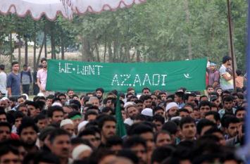 कश्मीर: नेशनल कॉन्फ्रेंस के कार्यक्रम में लगे 'आजादी' के नारे, देशद्रोह का केस दर्ज