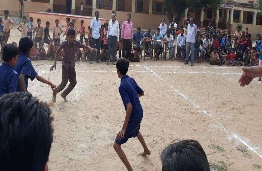जिले में खेल प्रतियोगिताएं शुरू, विभिन्न प्रतियोगिताओं में छात्रों ने दिखाया उत्साह