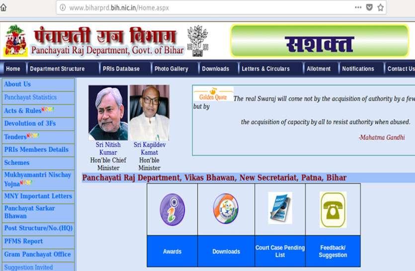 बिहार के पंचायती राज विभाग में निकली बंपर भर्ती, बिना किसी शुल्क के करें आवेदन