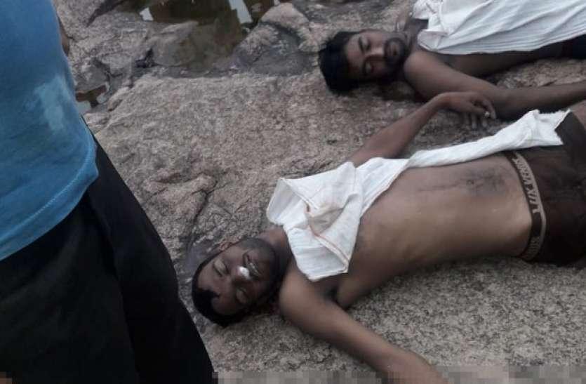 मोहनी डैम में डूबने से दो युवको की मौत, 5 को बचाया