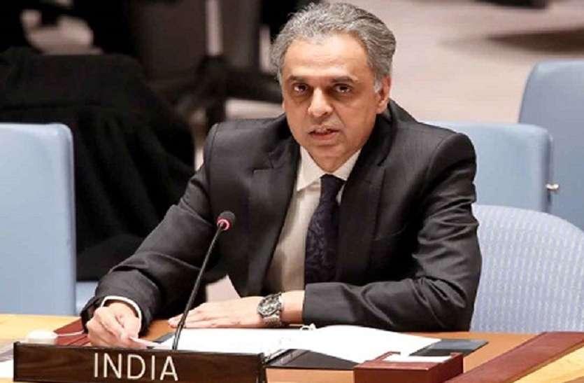 नई पाकिस्तान सरकार दक्षिण एशियाई क्षेत्र को आतंक मुक्त करने में सहयोग करे: सैयद अकबरुद्दीन