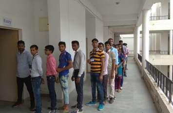 उदयपुर के इस वेटेरनरी कॉलेज में कड़ी सुरक्षा व्यवस्था के साथ शांतिपूर्ण मतदान