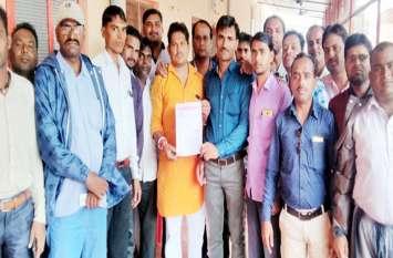 ग्राम रोजगार सेवकों ने समस्याओं के खिलाफ भरी हुंकार, सीएम को भेजा ज्ञापन