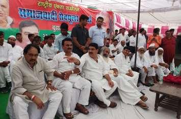 मुजफ्फरनगर के बुढ़ाना में पहुंचे शिवपाल सिंह यादव, राष्ट्रीय एकता सम्मेलन को करेंगे संबोधित