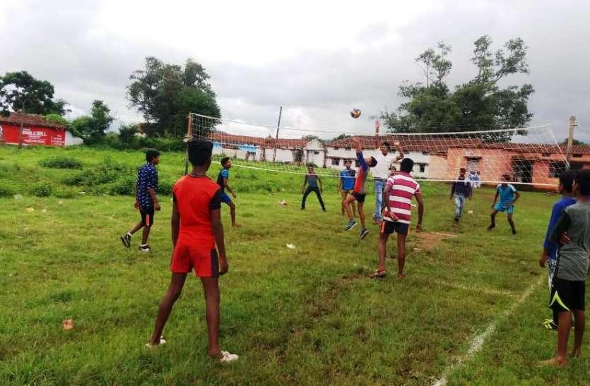 बोंदर में हुई विकासखण्ड स्तरीय मुख्यमंत्री कप खेल प्रतियोगिता