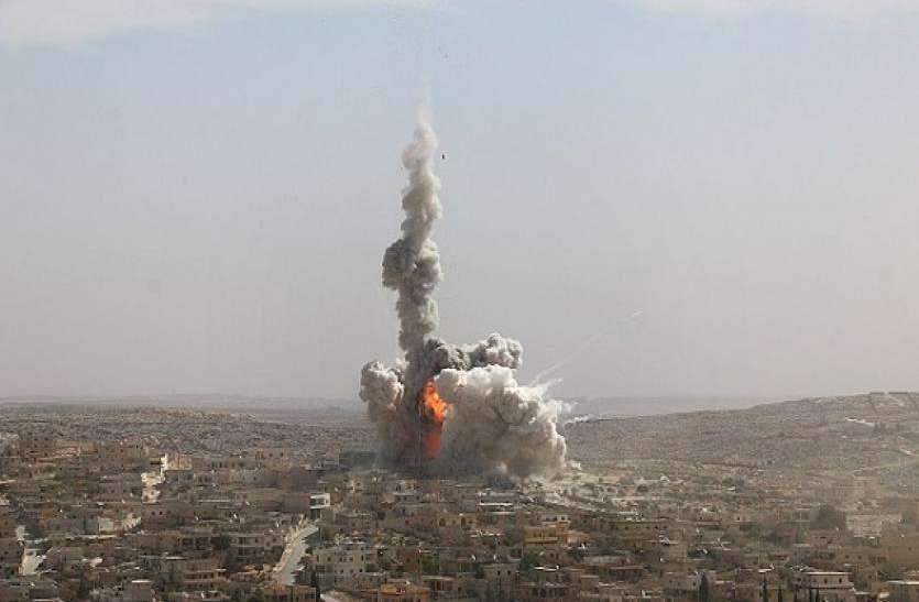 सीरिया: राजधानी दमिश्क में एक के बाद एक पांच धमाके, इजरायल का हाथ होने की आशंका