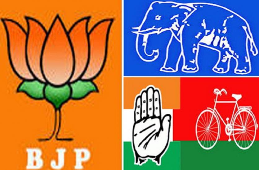 विधानसभा चुनाव में एक-दूसरे को घेरने की तैयारी में भाजपा-कांग्रेस