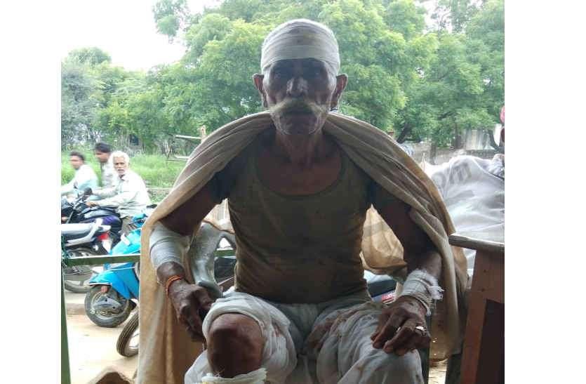 लाठी बरसा नथ छीन ले गए चोर, वृद्ध घायल, 18 माह में 6 वारदात