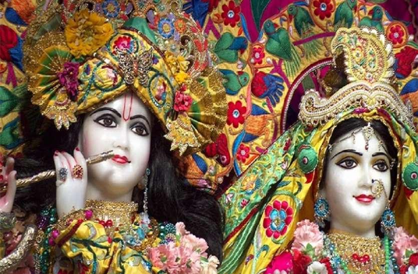 भारी बारिश के बाद भी यहां भगवान श्रीकृष्ण के जन्मोत्सव की मंदिरों में मची है धूम