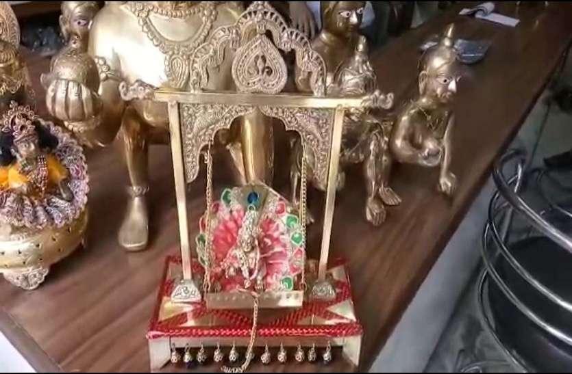 Krishna janmastmi 2018:  यहां के बने लड्डू गोपाल की धूम विदेशों में भी,खिले निर्यातकों के चेहरे
