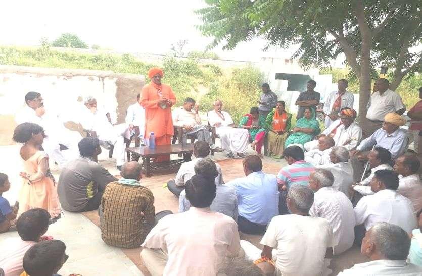 मुख्यमंत्री से पहले सांसद सुमेधानंद सरस्वती ने शुरू की गौरव यात्रा