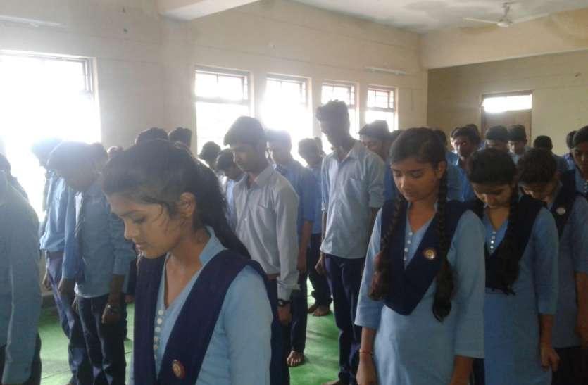 मुनि तरुण सागर को दी श्रद्धांजलि, जिले भर में रखी गईं शोक सभाएं
