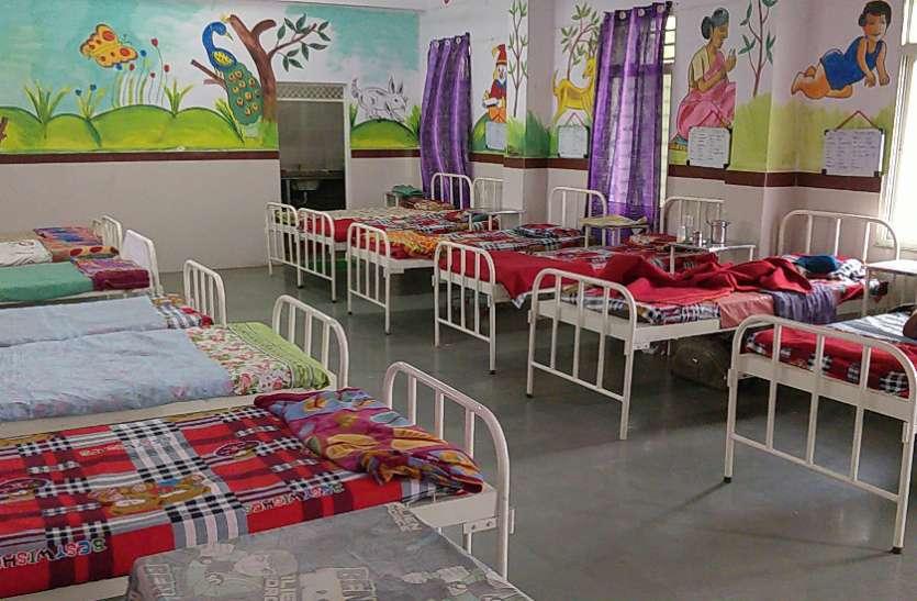 जिले में 20 हजार कुपोषित बच्चे फिर भी खाली पड़ा एनआरसी