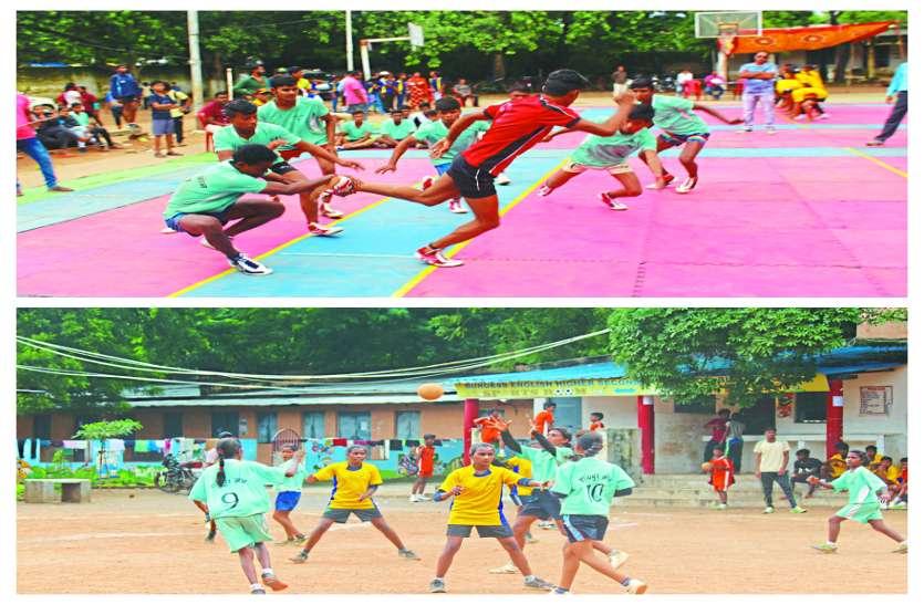 शालेय क्रीड़ा स्पर्धा में मेजबान बिलासपुर ने प्रतिद्वंदी को मात दे जीत का परचम लहराया