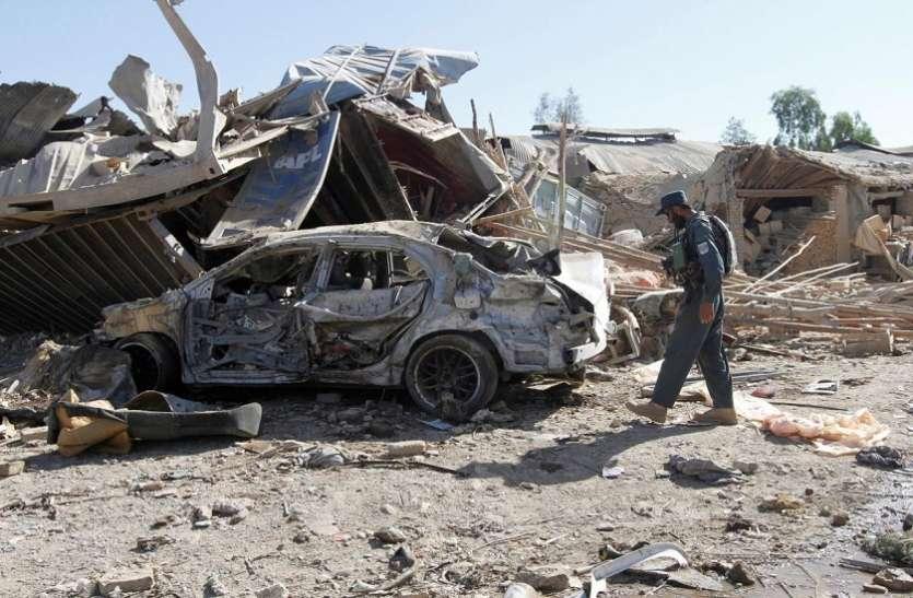 अफगानिस्तान के कंधार शहर में दो बम धमाके, सात पुलिसकर्मी घायल