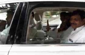 शिवपाल सिंह के सामने लगने लगे समाजवादी पार्टी जिंदाबाद के नारे, असमंजस में दिखे कार्यकर्ता