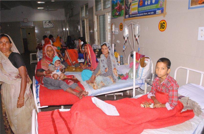 शाजापुर में इस बीमारी से अस्पताल में लग गई कतारें
