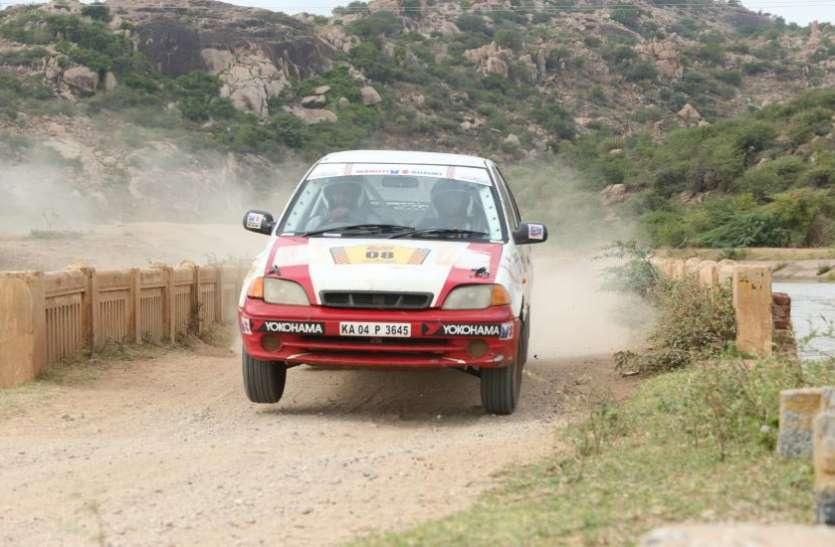 पंचर गाड़ी के साथ भी रैना ने दिखाई गजब की संघर्ष शक्ति, अगले चार दिनों तक वह गिल तथा दूसरे चालकों को देंगे चुनौती