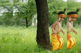 तस्वीरों में देखें नन्हें-मुन्ने कान्हा और राधा का नटखट अंदाज
