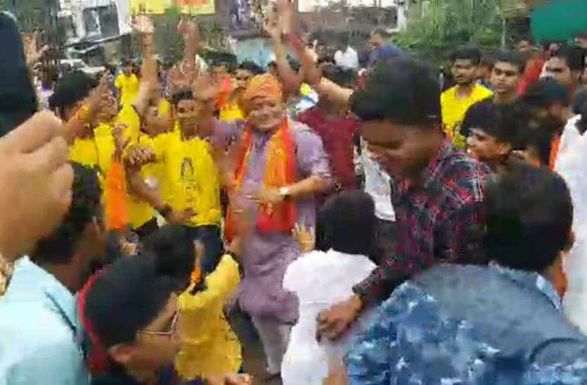 भगवान कृष्ण की शोभायात्रा में क्यों शेर नृत्य किया नपा अध्यक्ष अखिलेश खंडेलवाल ने, जानने के लिए पढ़ें ये खबर