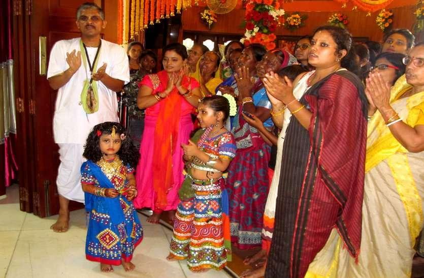 Photo gallery :  जन्माष्टमी पर मंदिरों में लगे 56 भोग, दिनभर चला सेलिब्रेशन, आधी रात को उत्सव