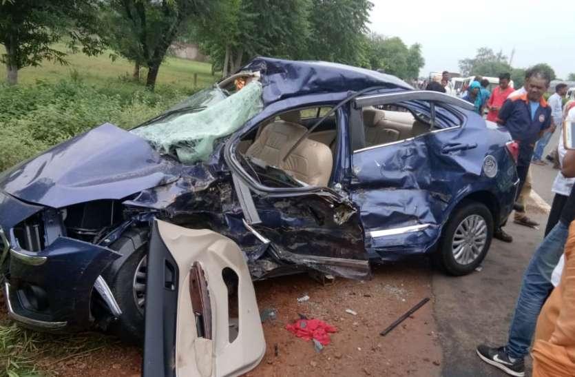 सड़क दुर्घटना लील गई तीन पीढिय़ां, हादसे से हर कोई स्तब्ध