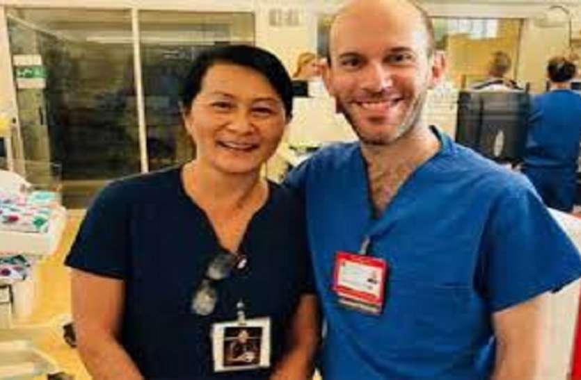 28 साल पहले नर्स ने जिस बच्चे को मौत के मुंह से निकाला, वह अस्पताल में डॉक्टर बनकर लौटा