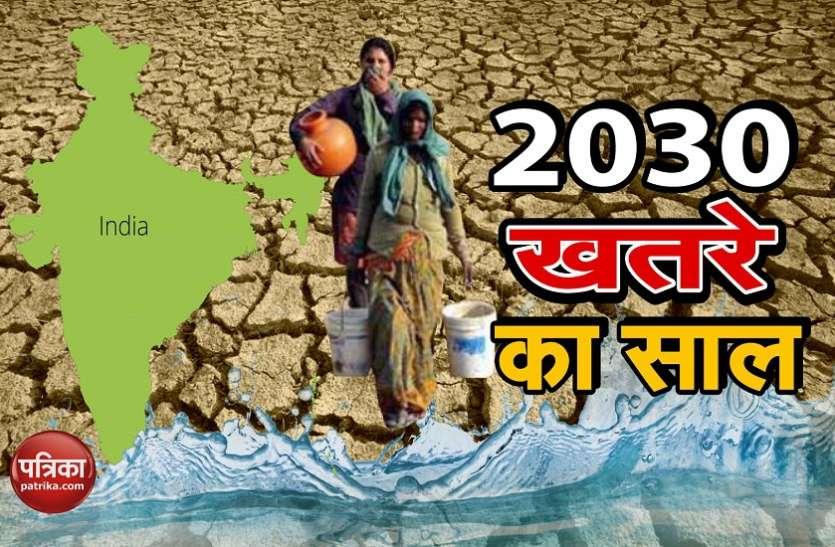 सावधानः अगले दशक के अंत तक पानी रुलाएगा, भूजल का स्तर गिरता चला जाएगा