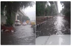 दिल्ली: झमाझम बरसात के बाद कई इलाके जलमग्न, अगले 24 घंटों तक भारी बारिश की चेतावनी