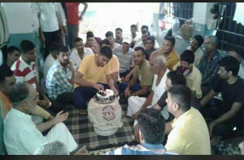 गैंगस्टर मांजू ने जोधपुर सेंट्रल जेल में मनाया जन्मदिन का जश्न, पुलिस में मामला दर्ज