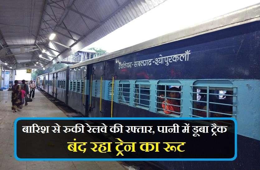 देखें वीडियो : बारिश से रुकी रेलवे की रफ्तार, पानी में डूबा ट्रैक, बंद रहा ट्रेन का रूट, जानिए पूरी खबर......