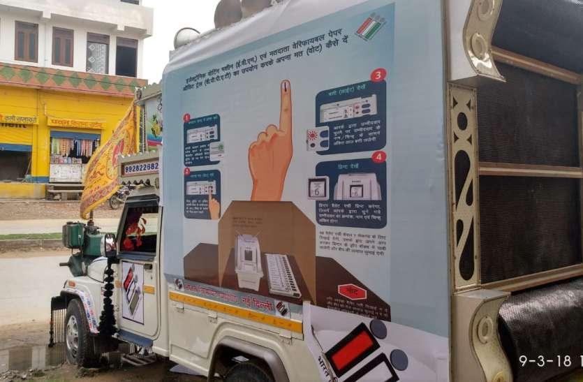 16 दिन में 251 मतदान केन्द्रों पर दौड़ेगी वैन