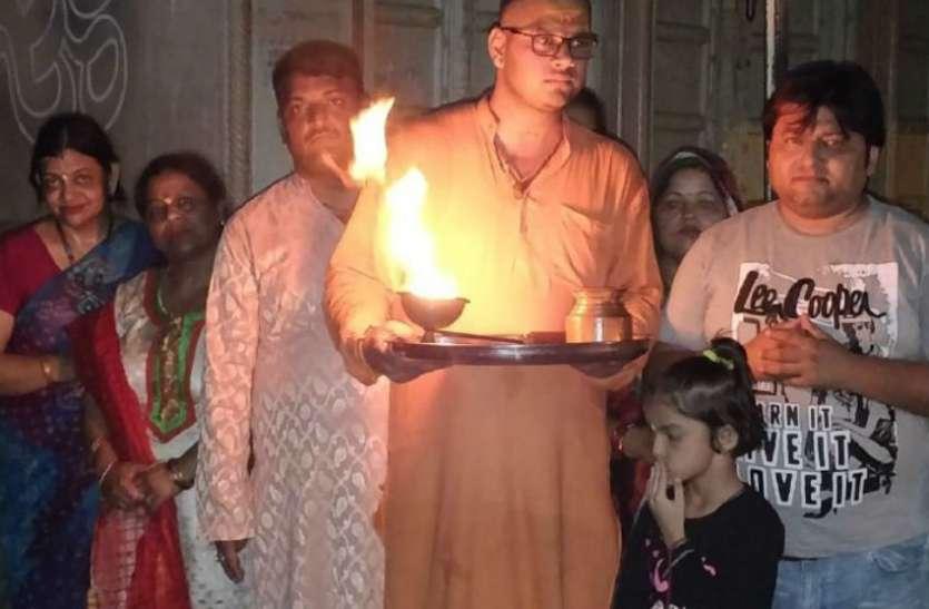 यमुना बचाने के लिए भगवान शिव की शरण में पहुंचे भक्त, कृष्ण जन्माष्टमी पर लिया ये संकल्प, देखें वीडियो