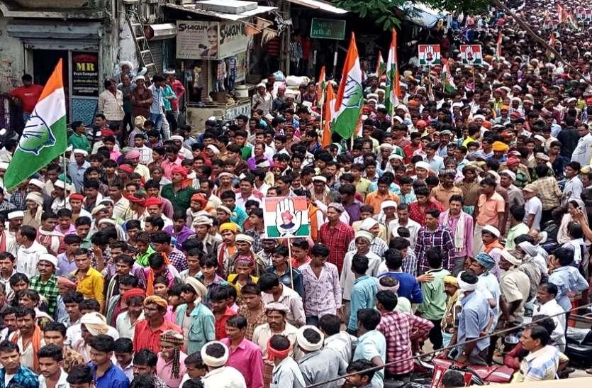 भाजपा ने देश और प्रदेश को किया बर्बाद : सांसद